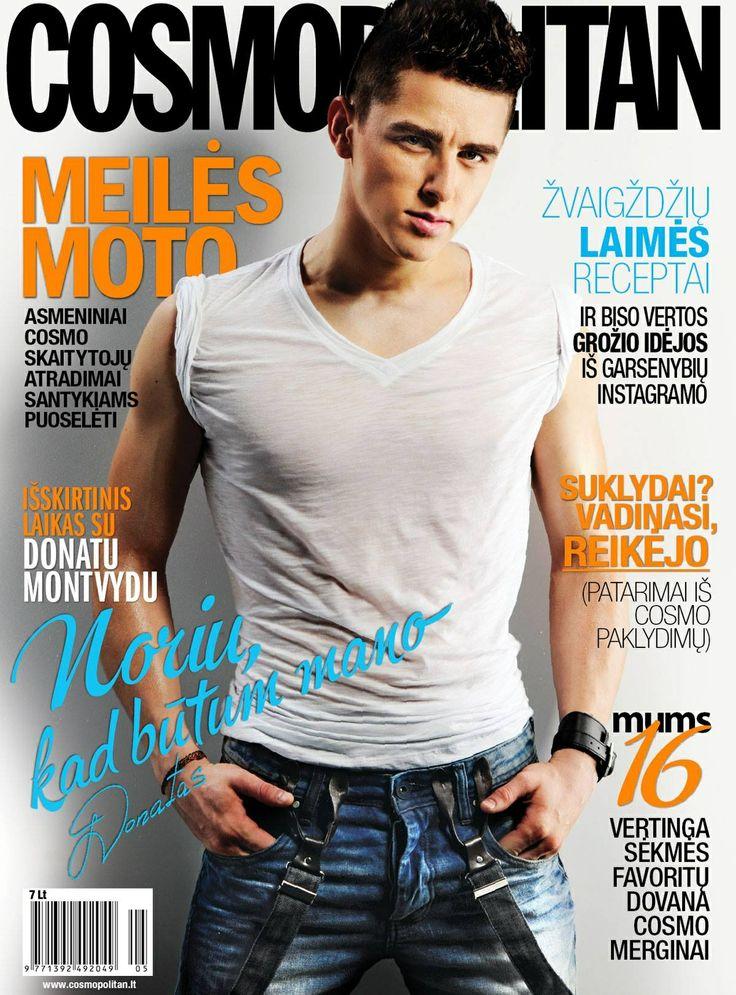 Cosmopolitan Men Lithuania May 2014