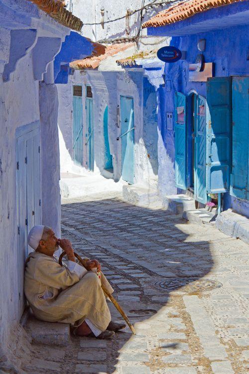 Chefchaouen, Morocco. Meer over de Marrokaanse steden lees je op: www.myworldisyours.nl/places/marokko #Marokko #Chefchaouen #Morocco