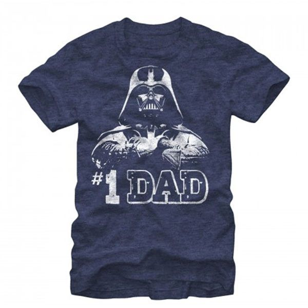 Number One Dad Darth Vader T-Shirt