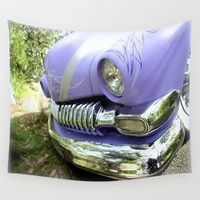 1951 Ford Mercury Wall Tapestry by Chris' Landscape Images & Designs