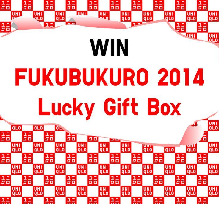 Follow us and fill out the entry form to win UNIQLO Gift Bag FUKUBUKURO 2014! http://www.uniqlo.com/us/fukubukuro-contest/
