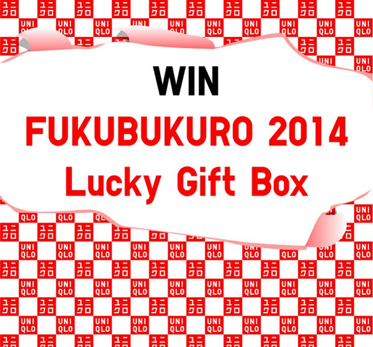 Follow us and fill out the entry form to win UNIQLO Gift Bag FUKUBUKURO 2014! http://www.uniqlo.com/us/fukubukuro-contest/
