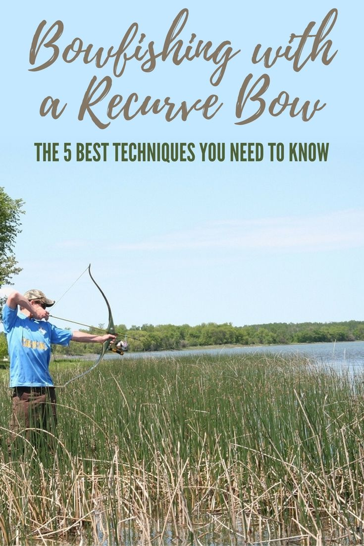Bowfishing with a Recurve Bow - The 5 Best Techniques You Need to Know - Bowfishing has become a popular off-season sport for hunters and fishermen alike. The recurve bow has gained in popularity lately and it's gaining traction as the best choice for bowfishing. Image by ourdoorhub.com