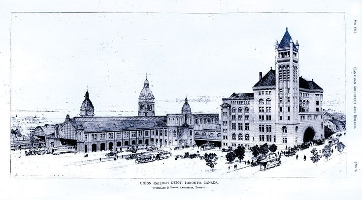 Union Station architectural drawing