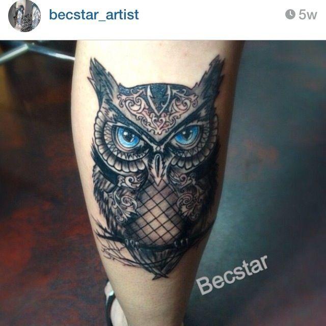 25+ Beste Ideeën Over Uil Tattoo Ontwerp Op Pinterest