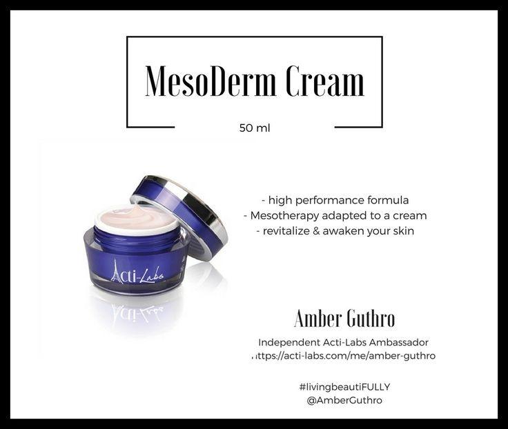 Mesoderm cream #skincare #skin #beauty #actiamber