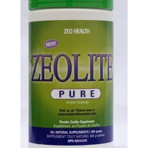 Zeolite Powder  Pure Canister 400 Grams Health & BeautyVitamins & Minerals