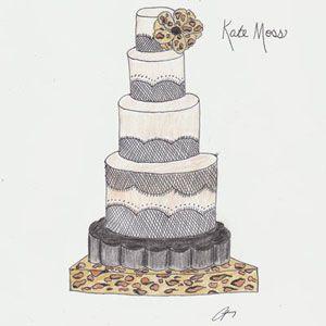 Celebrity Wedding Cakes Photos