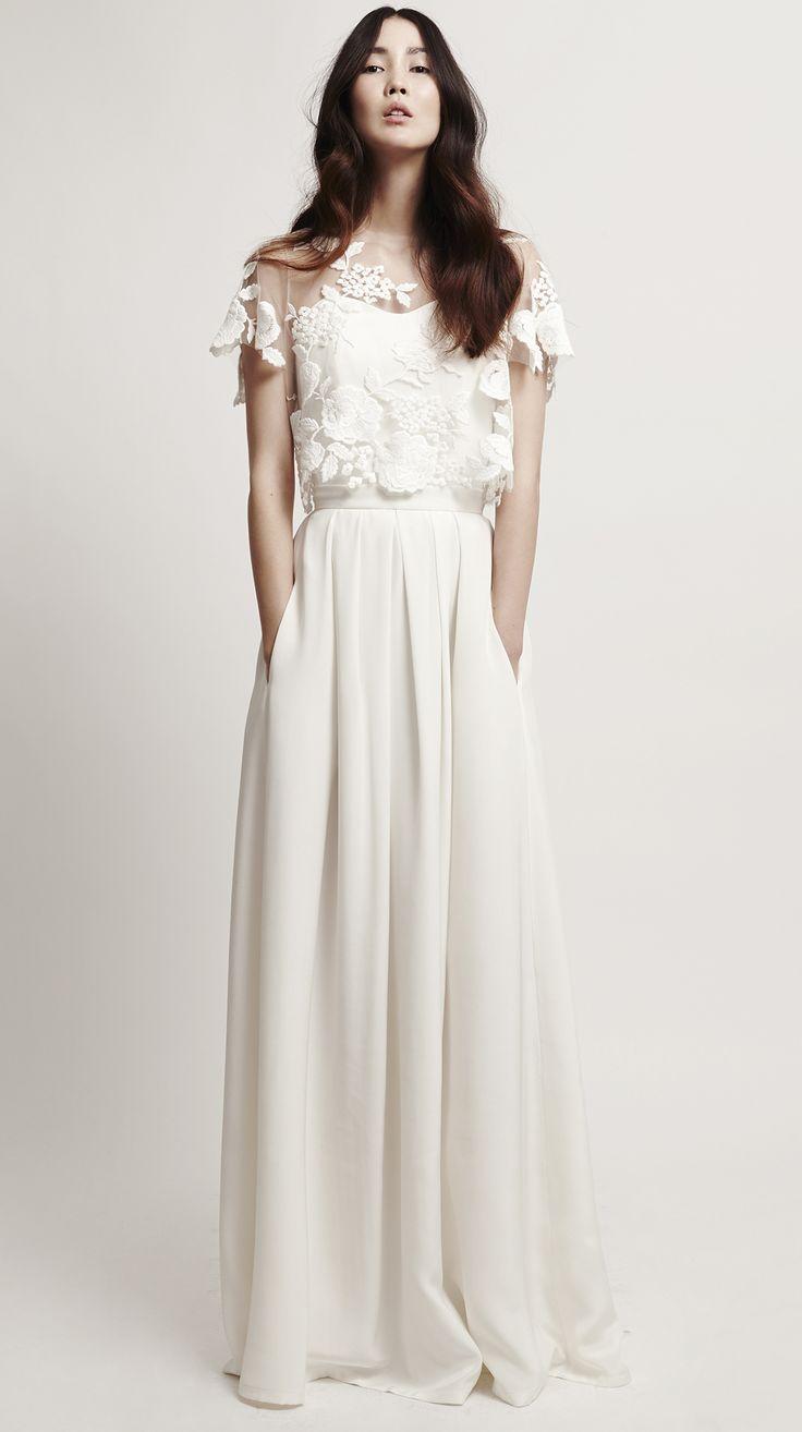 Mystic Rose Combination #bridalcouture #bridaldress #weddinggown #weddingdress #wedding #bride #modernbride #brautkleid #hochzeitskleid #brautmode #hochzeit #kaviargauche