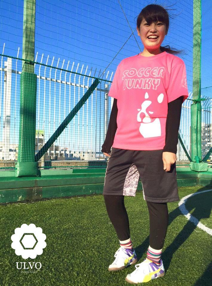 #ulvo #soccerjunky #gramo #puma #フットサル #女子フットサル