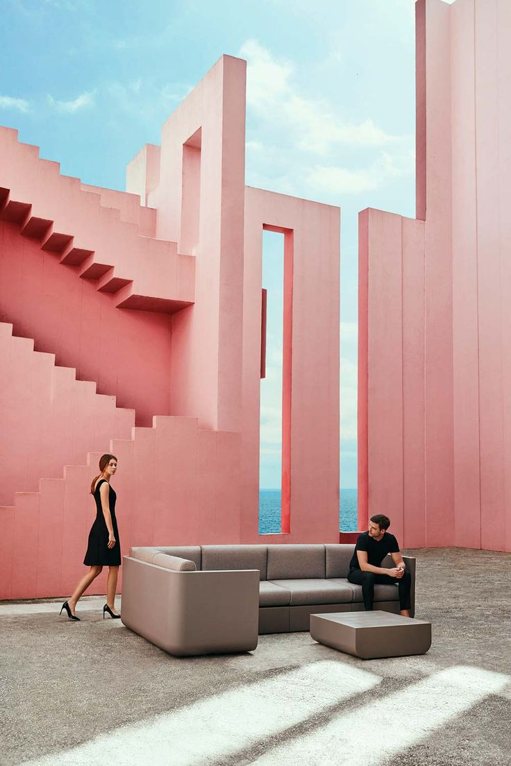 Pure Architectural Lines Like Design, Install The Vondom ULM Corner Sofa  Outdoors In A World Where Inspiration Is Queen.