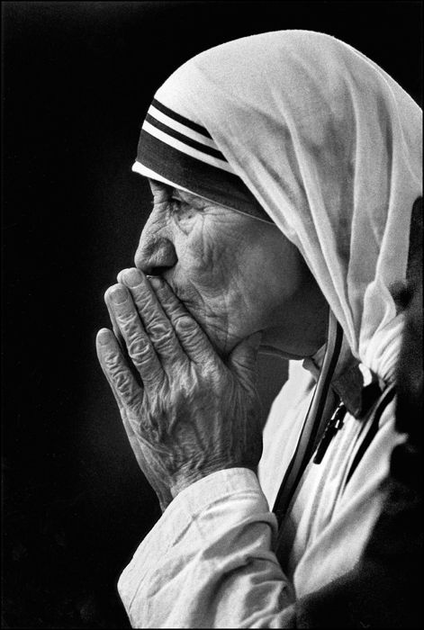 """May God break my heart so completely that the whole world falls in.""  ---Mother Teresa"