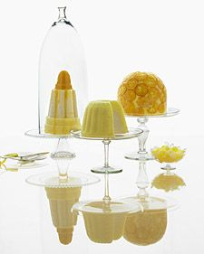 glass cake stands, dome