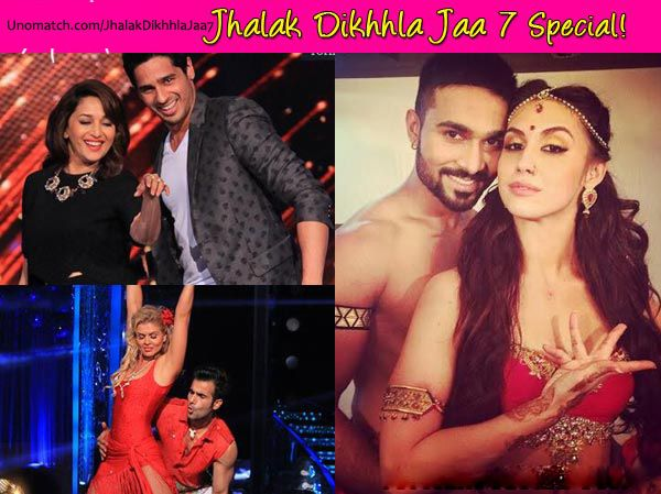 Jhalak Dikhhla Jaa is a television reality show and the Indian version of BBC's Strictly Come Dancing . The hosts are Ranvir Shorey and Drashti Dhami. Remo D'souza, Madhuri Dixit, Maksim Chmerkovskiy and Karan Johar are the judges. The contestants are S. Sreesanth, Sophie Choudry, Purab Kohli, Karan Tacker, Mouni Roy, Kritika Kamra, Kiku Sharda, VJ Andy, Shakti Mohan, Sukhwinder Singh, Akshat Singh, Ashish Sharma and Pooja Bose