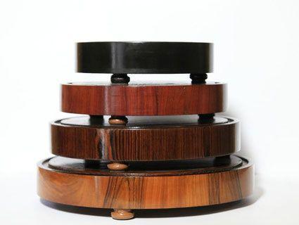 Tipologia di basi per campane in vetro - Campane di vetro