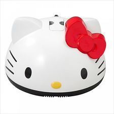 SANRIO Hello Kitty Vacuum Cleaner for Sofa Bed Blanket Futon Cloth Carpet Japan