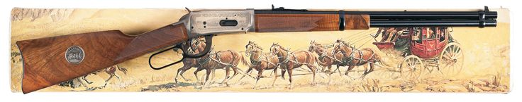 Lever action rifles, classic look for cowboy action shooting Winchester 1894