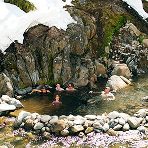 Frenchman's Bend Hot Springs west of Ketchum, Idaho (near Sun Valley)