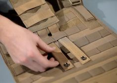 How to Correctly Weave MOLLE (PALS)                                                                                                                                                                                 More
