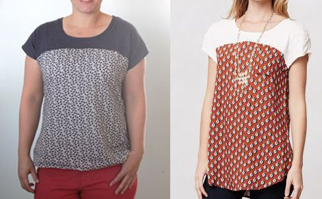 the easy tee {the anthro pattern drop version} - itsalwaysautumn - it's always autumn