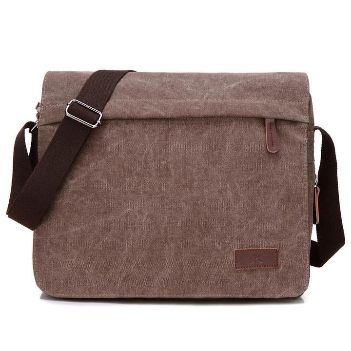Men Travel Messenger Bag Shoulder Bag Crossbody Handbag Small Bag Simple Style