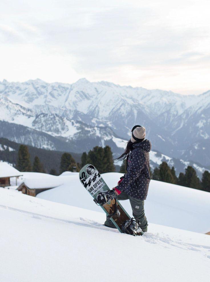 Картинки сноубордиста девушки