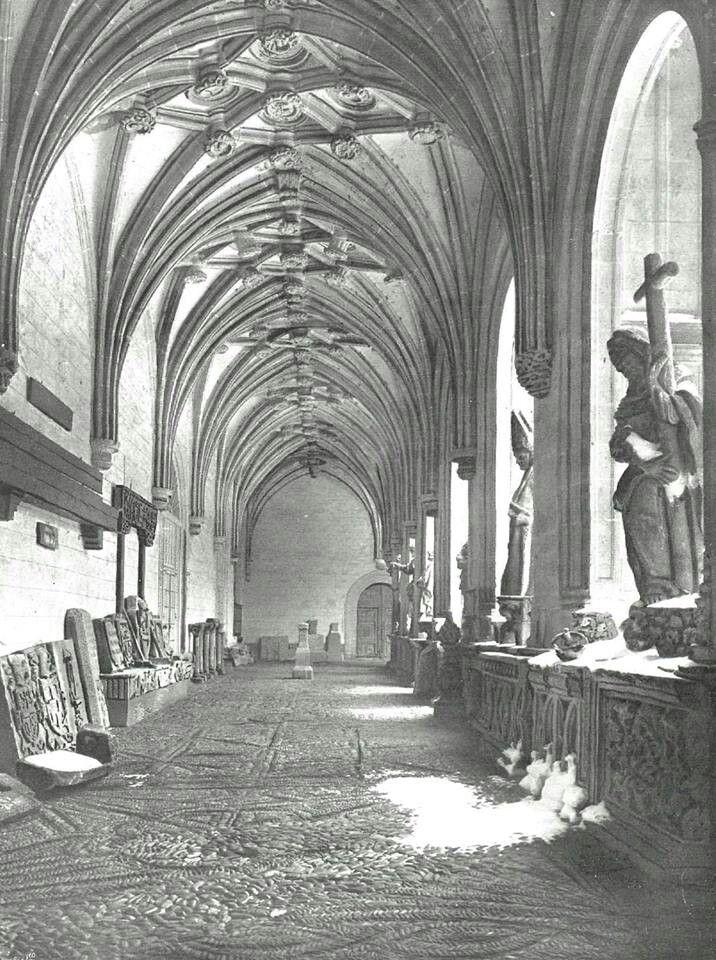 Le n fotos antiguas claustro del parador de san marcos - Marco foto antigua ...