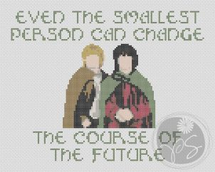 Lord of the Rings quote | Pixystitches