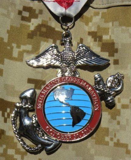 MCM Marine Corps Marathon Washington DC October | medals i ...