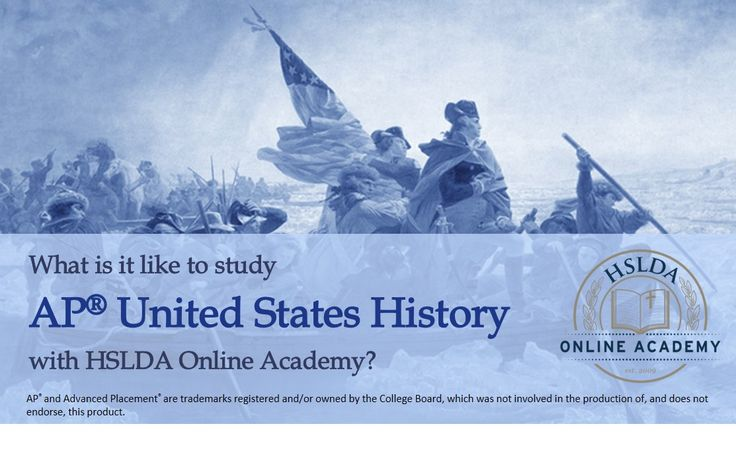 Your student will learn about the people and beliefs that shaped American history in HSLDA Online Academy's US History Course. Click to learn more, or to register today.