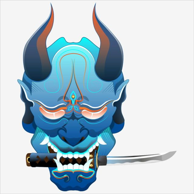 Hannya Mask Hannya Hannya Tattoo Png And Vector With Transparent Background For Free Download Oni Mask Tattoo Oni Art Oni Mask