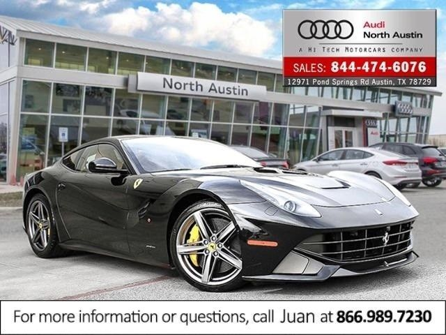 Awesome Ferrari 2017: 2015 Ferrari F12berlinetta 2dr Cpe 2015 Ferrari F12berlinetta 2dr Cpe 580 Miles NERO 2dr Car 6.3L AUTOMATIC