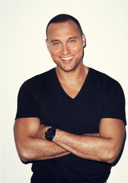 Celebrity Male Dimples - Derek Jeter - Click to Discover what Your Face Reveals with a Professional Face Reading and Face Compatibility Reading.  :)