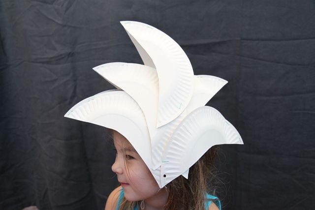 Opera House Dress-up (made out of disposable paper plates)