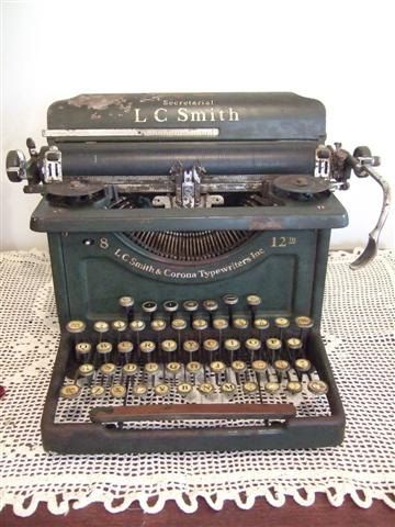 Typewriters just look neat - love them!