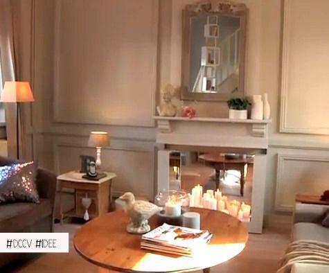 89 best Dans le salon images on Pinterest Live, Home and At home - peindre avant de tapisser