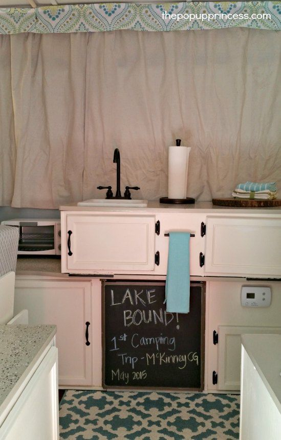 Hollie's Pop Up Camper Makeover - The Pop Up Princess