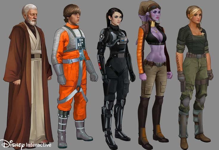 ArtStation - Star Wars mobile game - Disney Interactive, will nichols