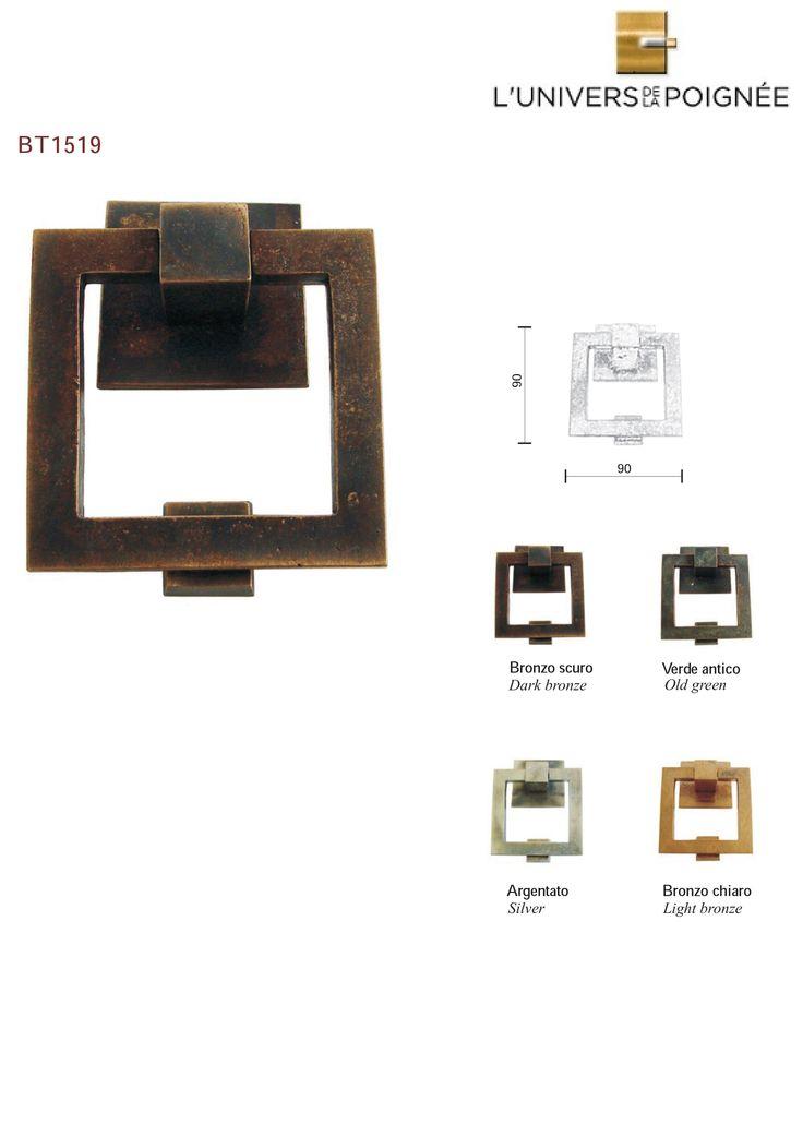 18 best Collection Lu0027Univers de la Poignée Bronze images on - bouton de porte meuble salle de bain