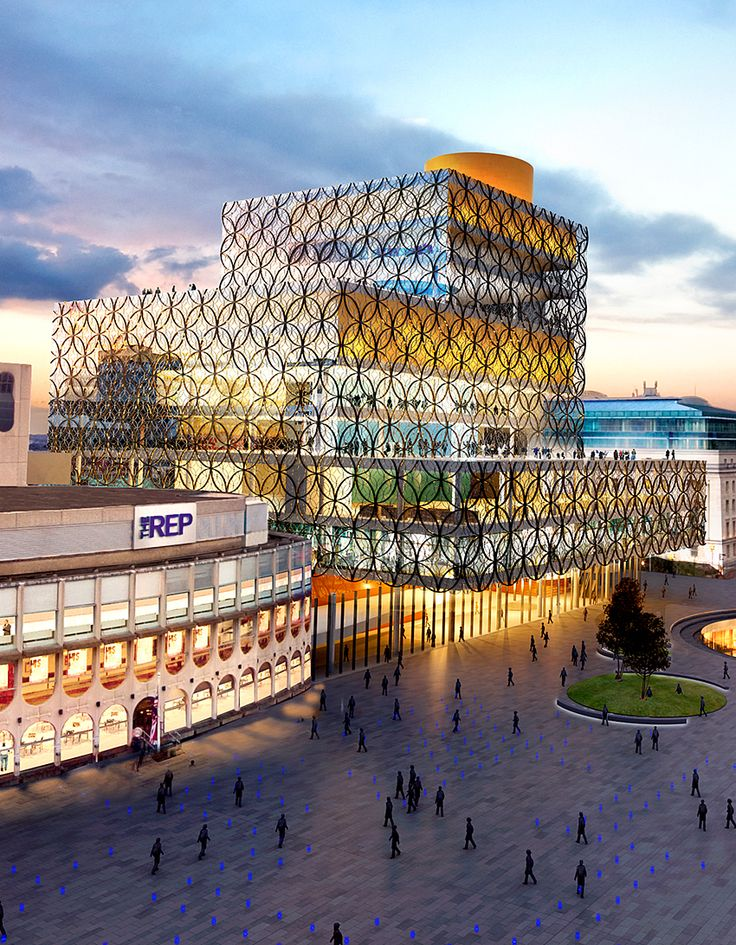 Library of Birmingham, UK ☮k☮ #architecture
