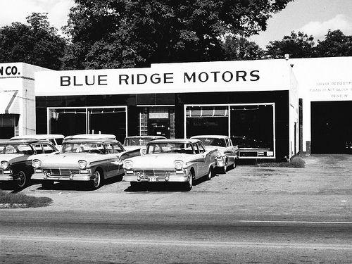 Blue Ridge Motors Ford, Anderson SC, 1957