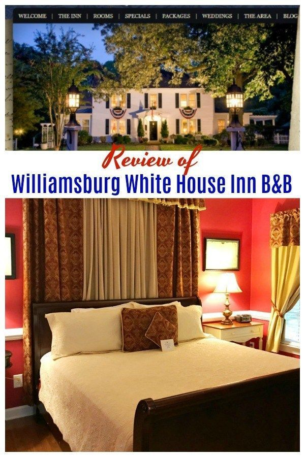 Williamsburg White House Inn Bed & Breakfast Review (With