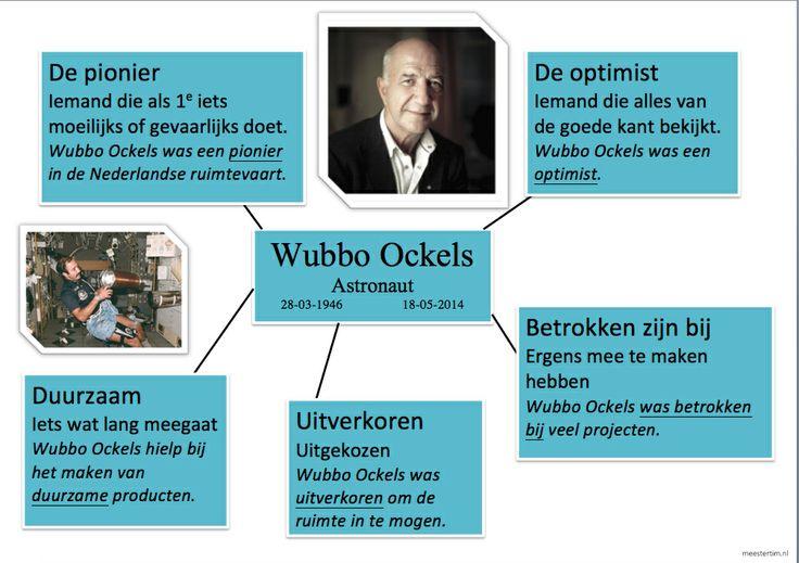 #Woordcluster Wubbo Ockels - @Nieuwsbegrip - Meestertim.nl