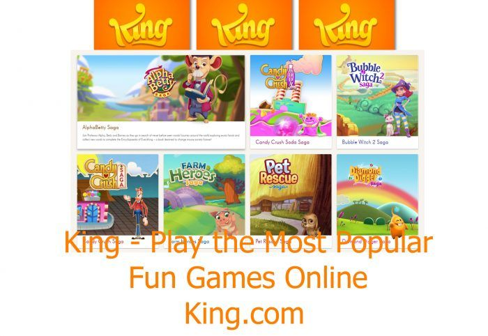 King - Play the Most Popular | Fun Games Online | King.com - TrendEbook