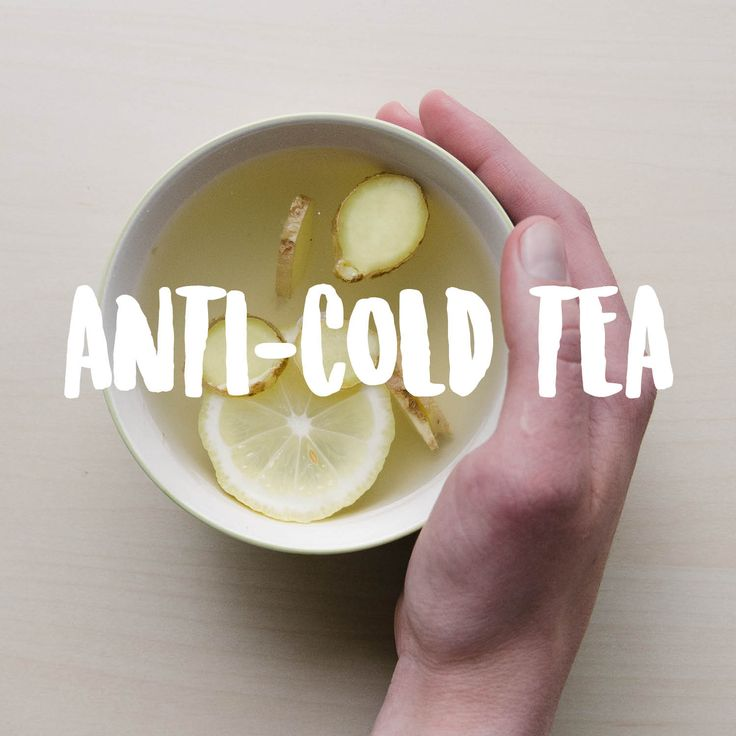 Anti-cold tips and health tips.