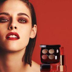LA MODA ME ENAMORA : Maquillaje otoño 2016 2017 de Chanel Let Red Rule