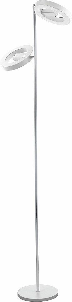 Eglo LED Stehleuchte, 2flg., »ALVENDRE« Jetzt bestellen unter: https://moebel.ladendirekt.de/lampen/stehlampen/standleuchten/?uid=e1b1aee6-db2d-58b2-9a6f-953b8db04275&utm_source=pinterest&utm_medium=pin&utm_campaign=boards #stehlampen #leuchten #lampen