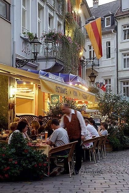 Baden Baden Germany restaurant