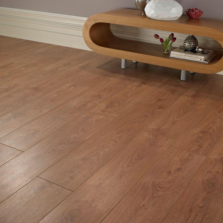 Natural Oak Effect Laminate Flooring Part - 39: Colours Bologna Cherry Oak Effect Laminate Flooring 2.25m² Pack |  Departments | DIY At Bu0026Q