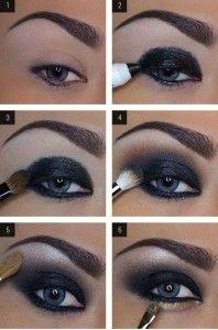 smokey eyes al naturale -